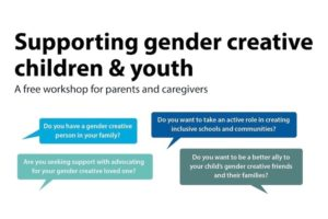 Supporting gender creative children and youth.