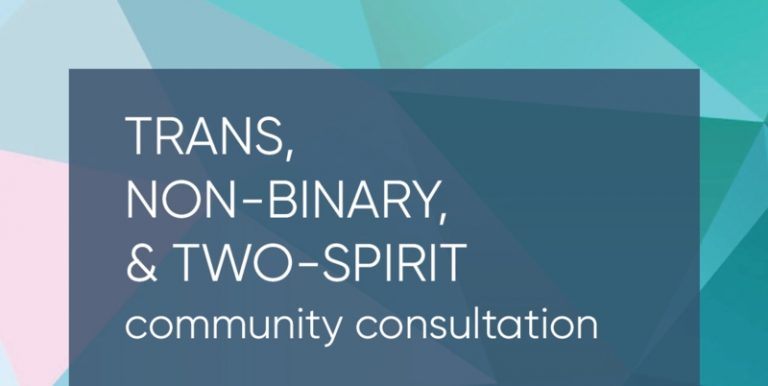 Trans, Non-Binary, and Two-Spirit Community Consultation Help inform the City of Victoria's 'Inclusion Plan'